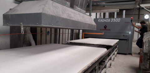 Xilex increases by more than 25% the productivity in the treatment of marble and granite of a line in the Novelda area
