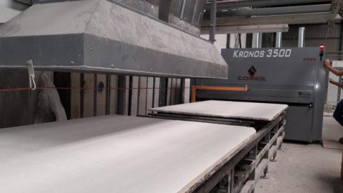 Xilex aumenta en un más del 25% la productividad en el tratamiento de mármol y granito de una línea en la zona de Novelda