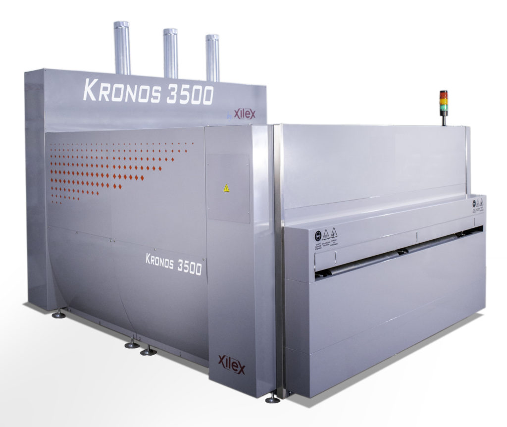 Kronos 3500: epoxy, polyester and polyurethane curing oven for natural stone.