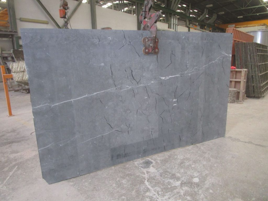 Slab resined with conventional oven